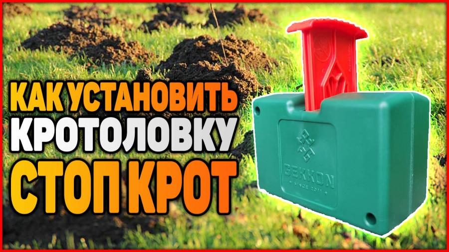 Кротоловка СТОП КРОТ (Как пользоваться ловушкой для крота)
