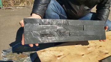 3D панель черная (натуральный камень)