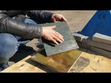 Плитка террасная зелёная (натуральный камень)